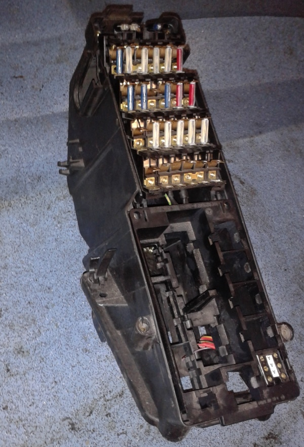 mercedes w124 fuse box and fuses e class 260e 230e ebay